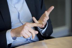 tellende handen